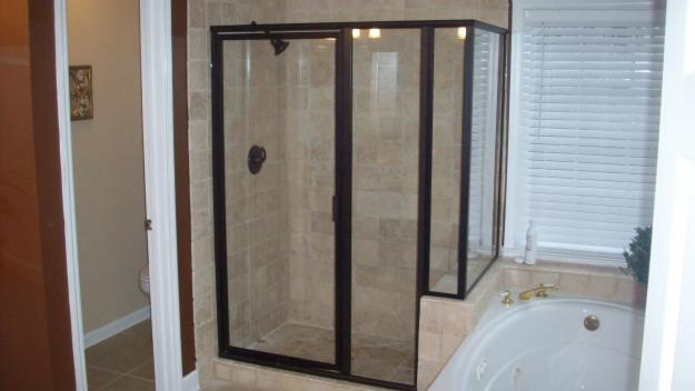 Framed shower enclosure & Shower Doors and Enclosures \u2013 Accurate Glass and Mirror Pezcame.Com